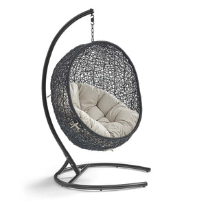 Encase Swing Outdoor Patio Lounge Chair - taylor ray decor