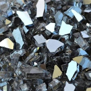 Gunmetal Fire Glass