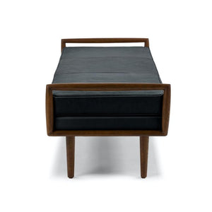 Ansa Charme Leather Bench
