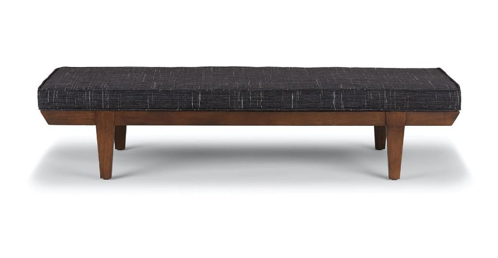 Sente Modern Bench in Comox Gray