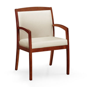 Gatsby Wood Frame Full Back Guest Chair