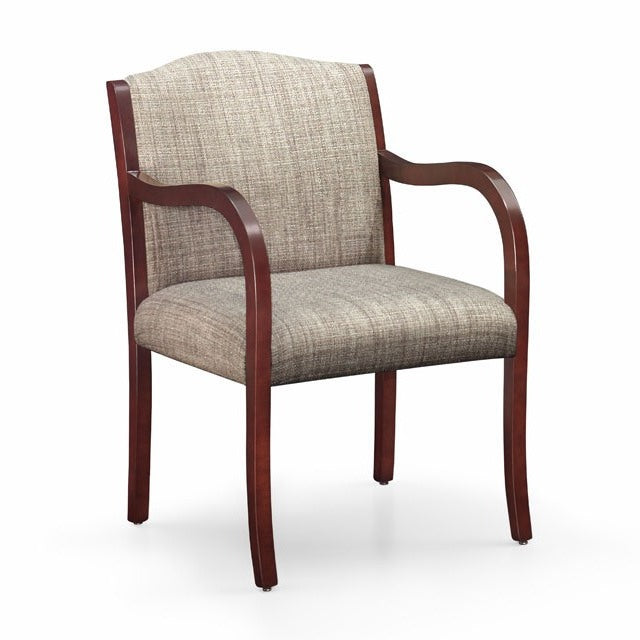 Laurel Wood Frame Full Back Guest Chair - taylor ray decor