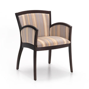 Profile Wood Frame Closed Arm Guest Chair