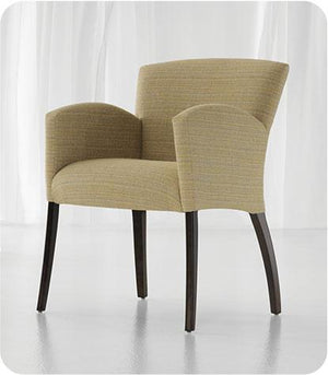 Profile Wood Frame Fully Upholstered Guest Chair