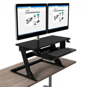 High Tide II Sit-Stand Desktop Workstation - taylor ray decor