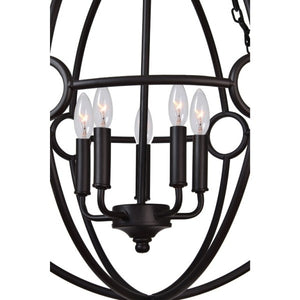 Maida Iron Light Pendant