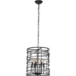 Hulton Iron Light Pendant - taylor ray decor