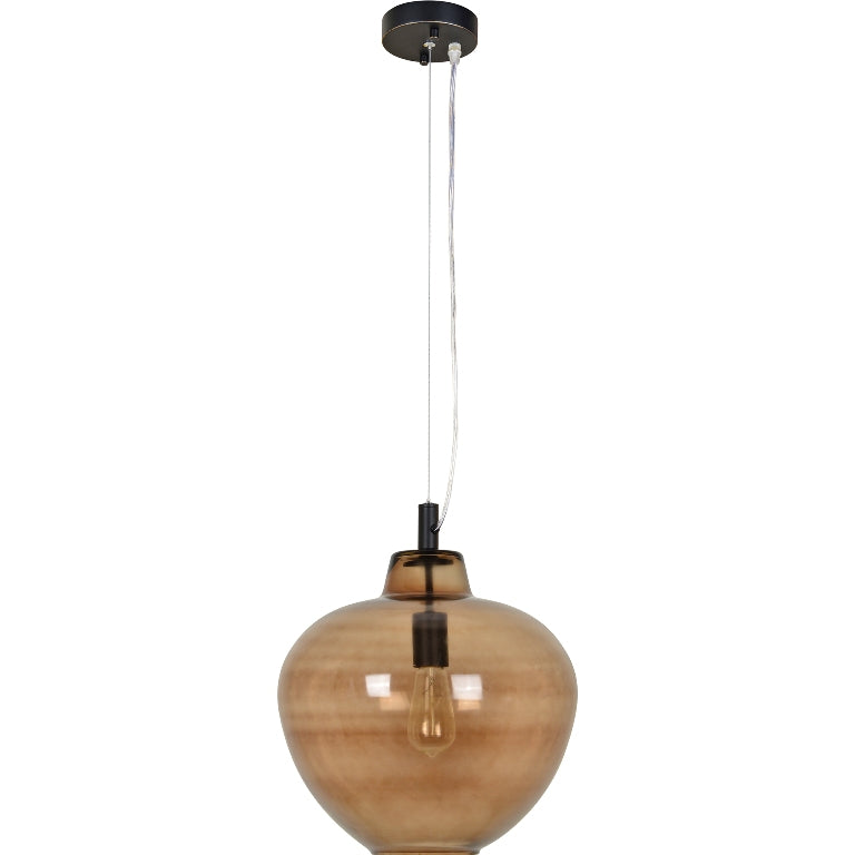 Vareuse Brown Glass Light Pendant - taylor ray decor