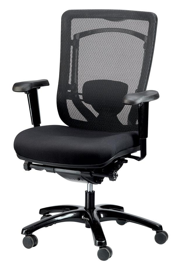 Monterey Mesh Back / Fabric Seat Executive Chair - taylor ray decor