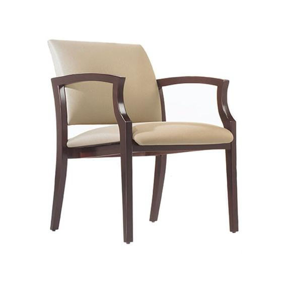 Mingle Wood Frame Guest Chair