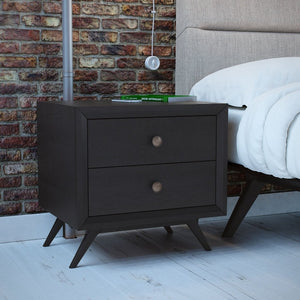 Addison 3 Piece Mid-Century Queen Bedroom Set