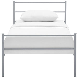 Alina Twin Steel Platform Bed
