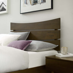 Everly Modern Wood Queen Bed
