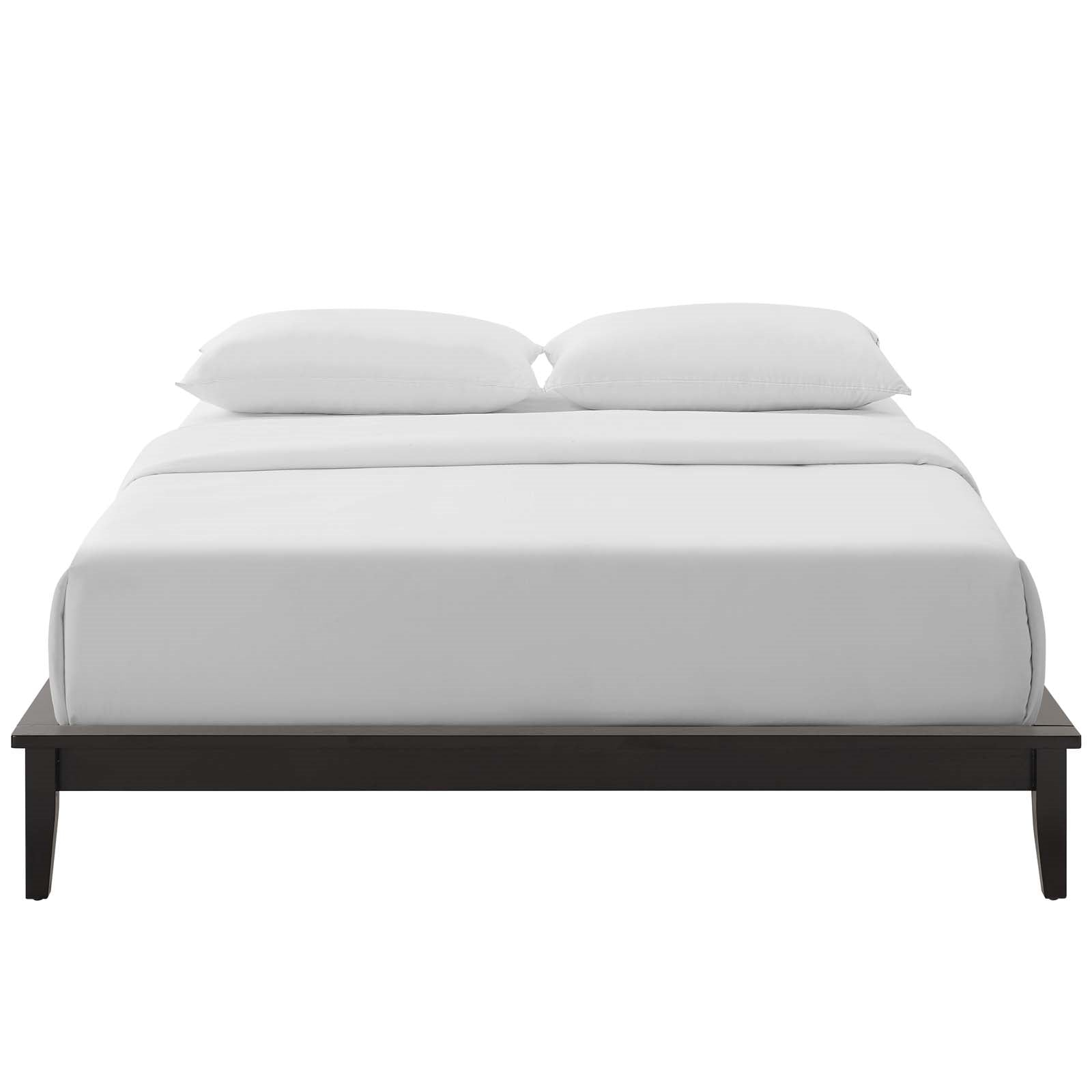 Picture of: Lodge Full Size Wood Platform Bed Online Interior Design Store And Service Provider