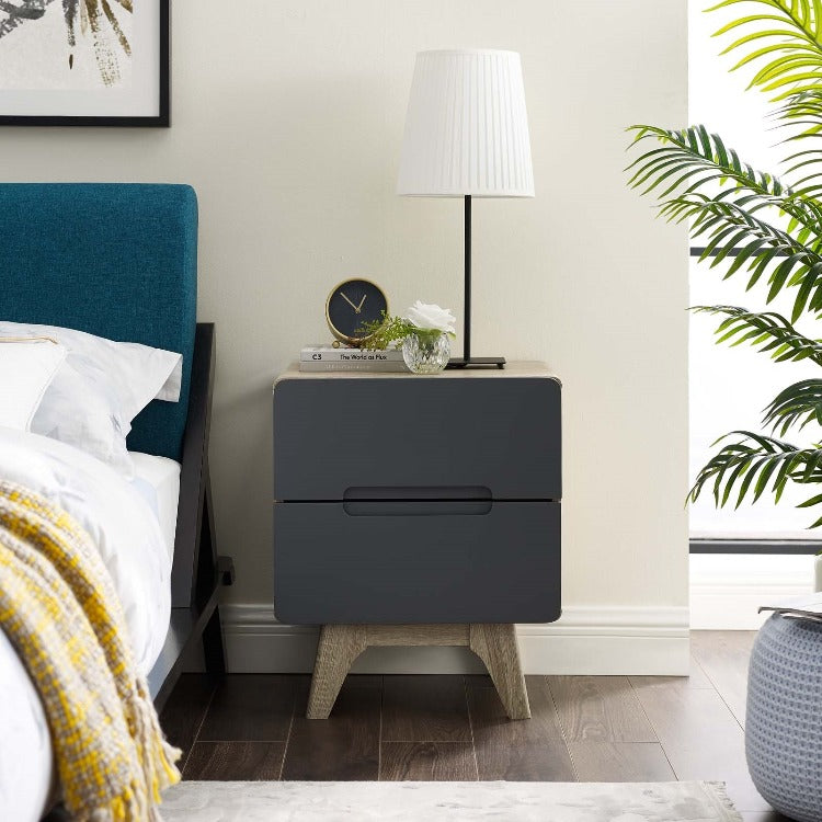 Origin Nightstand or End Table in Natural Gray - taylor ray decor