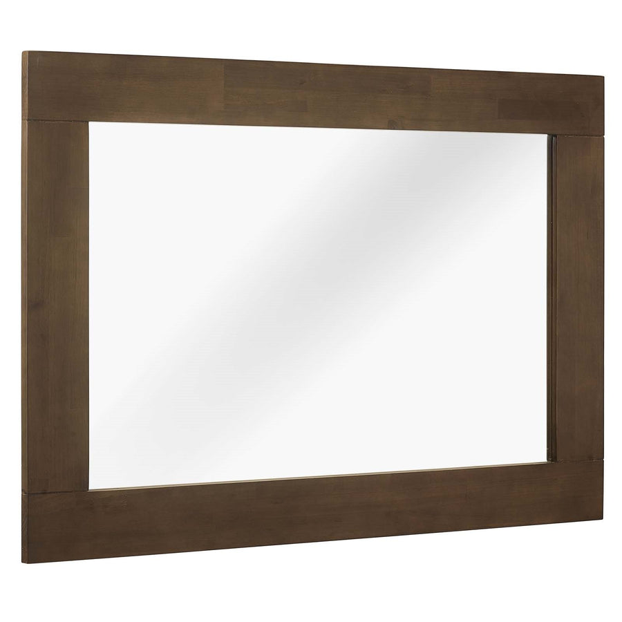 Everly Modern Wood Frame Mirror - taylor ray decor