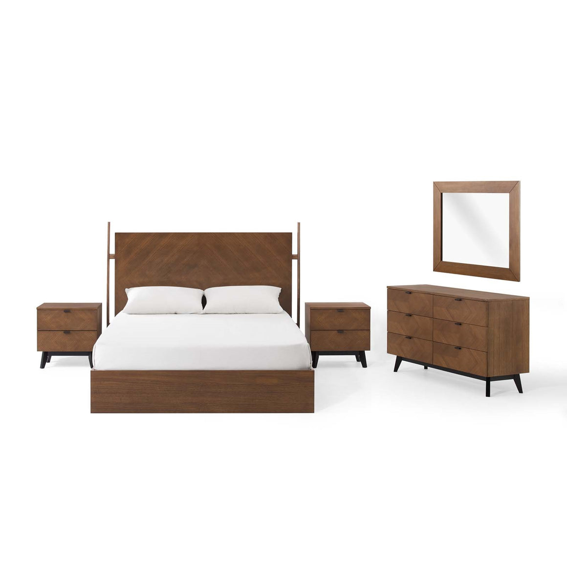 Kali 5 Piece Modern Queen Bedroom Set - taylor ray decor