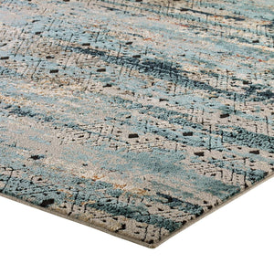 Tribute Eisley Rustic Distressed Transitional Diamond Lattice Area Rug - taylor ray decor