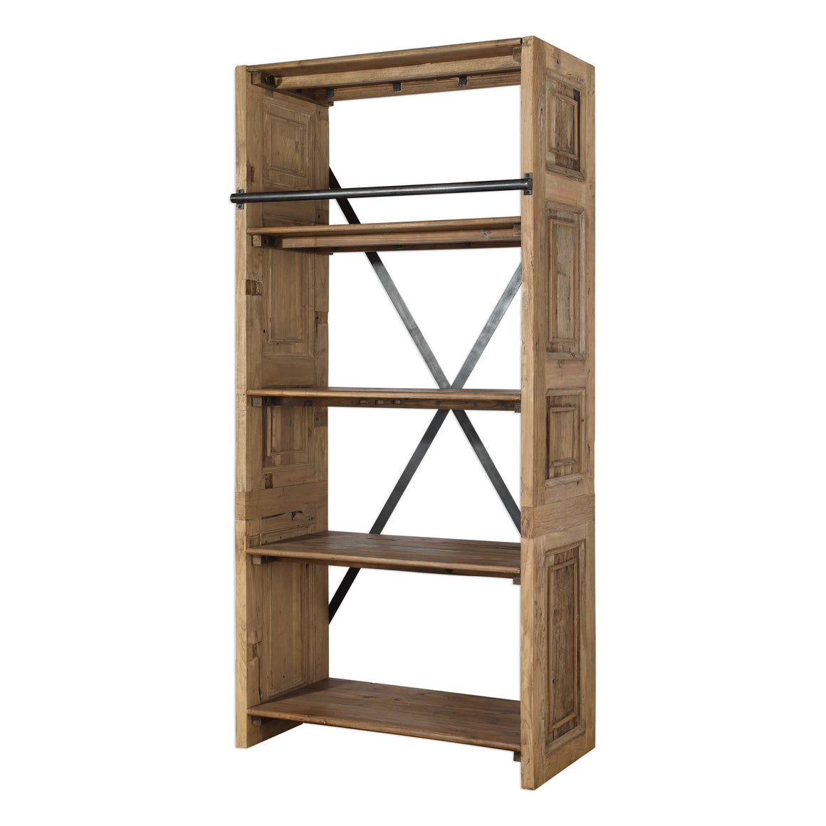 Bryce Salvaged Wood Etagere