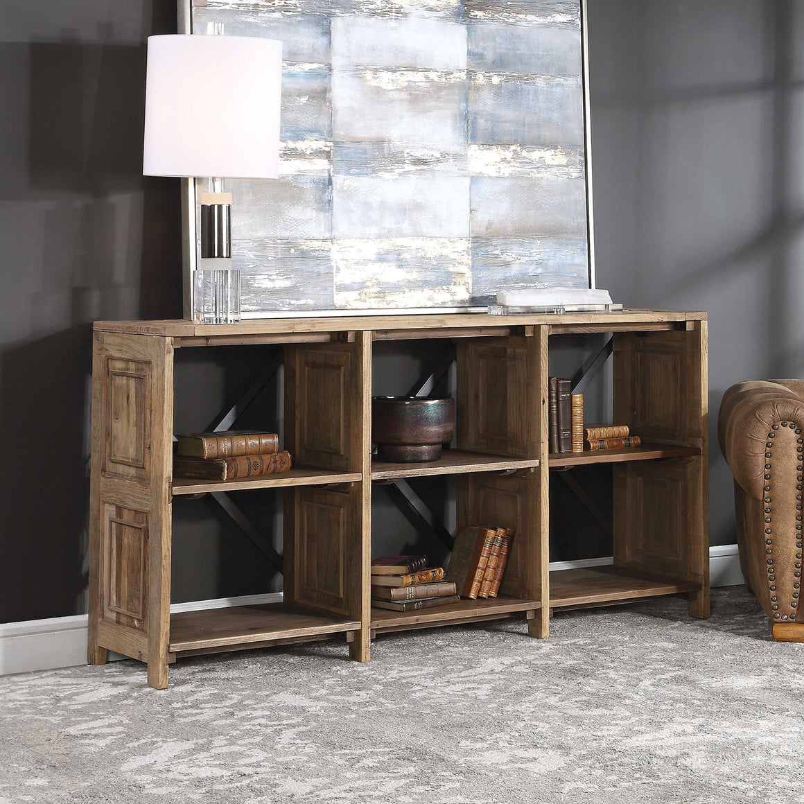 Bryce Salvaged Wood Console Table
