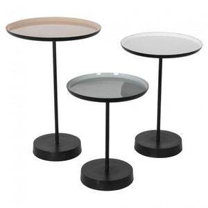 Stepping Stone Iron Accent Tables S/3