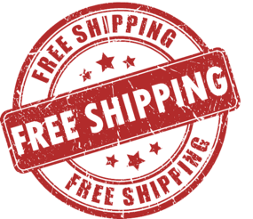 Free Shipping via Parcel Ground Service