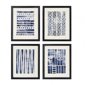 Flint Framed Prints - Set of 4