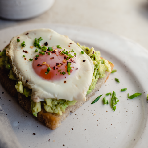 Avocado Toast with Fried Egg | Weekend breakfast