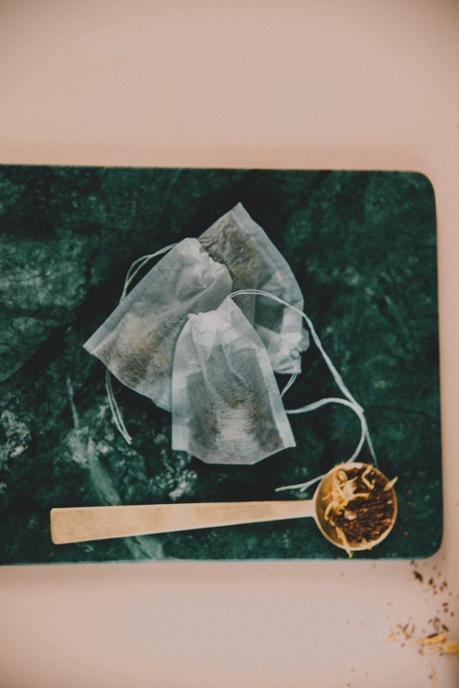 Fillable tea bags - We B Tea