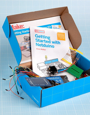 Make: Getting Started with Netduino Kit