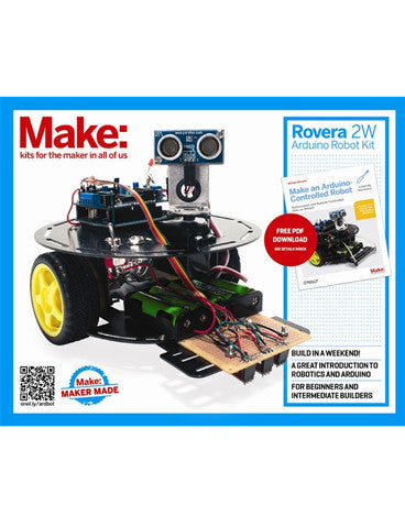 Make: Rovera 2WD Arduino Robot Kit