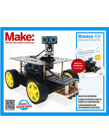 Make: Rovera 4WD Arduino Robot Kit