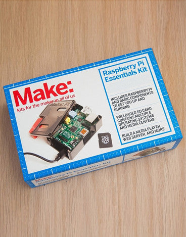 Make: Raspberry Pi Essentials Kit