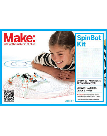 Make: Spinbot Kit
