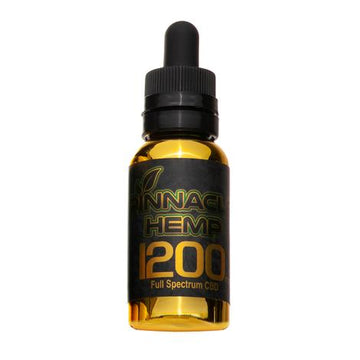Pinnacle Hemp - 1200mg Full Spectrum CBD