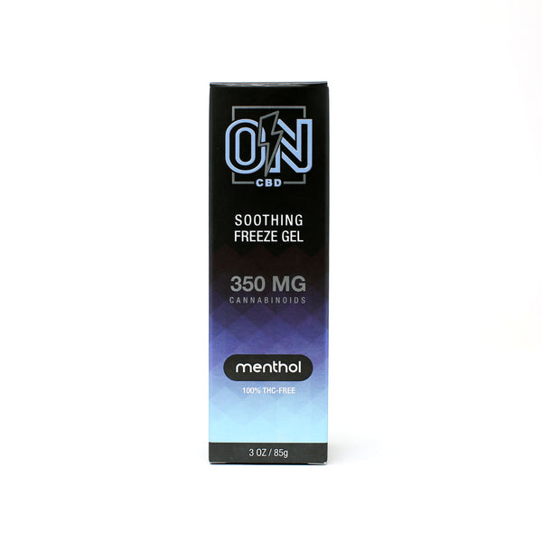 ON CBD - Soothing Freeze Gel Roll On 350MG - All CBD Co