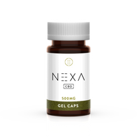Nexa CBD - Natural Capsules 500MG - All CBD Co