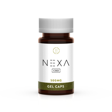 Nexa CBD - Natural Capsules 500MG