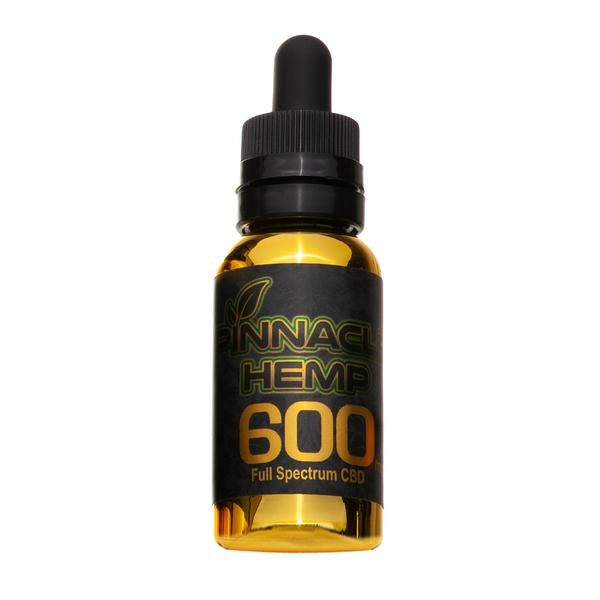 Pinnacle Hemp - 600mg Full Spectrum CBD - All CBD Co