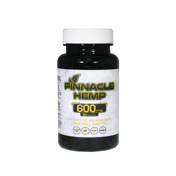 Pinnacle 600mg Full Spectrum Capsule - All CBD Co
