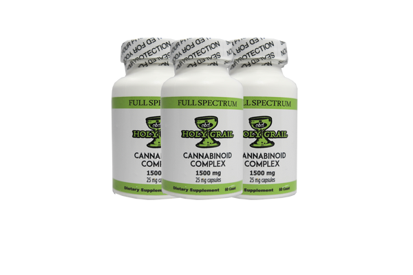 Holy Grail - 25MG CBD Capsules - All CBD Co