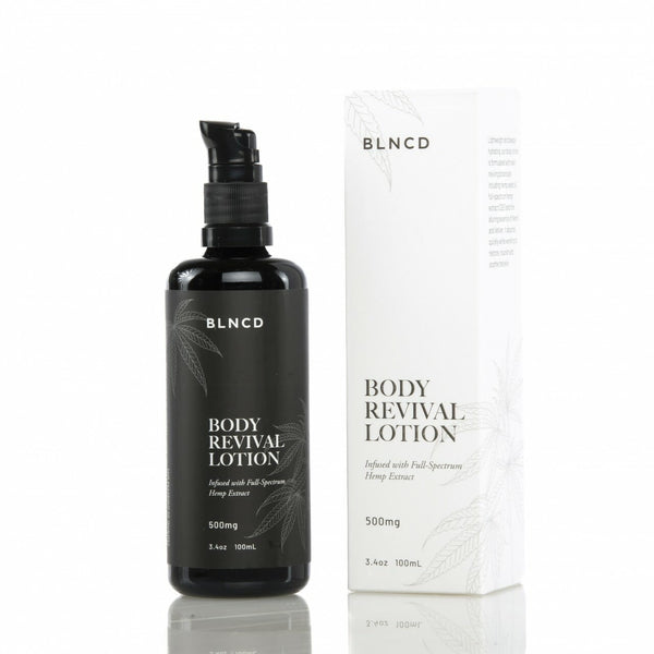 BLNCD - Revival Body Lotion - All CBD Co