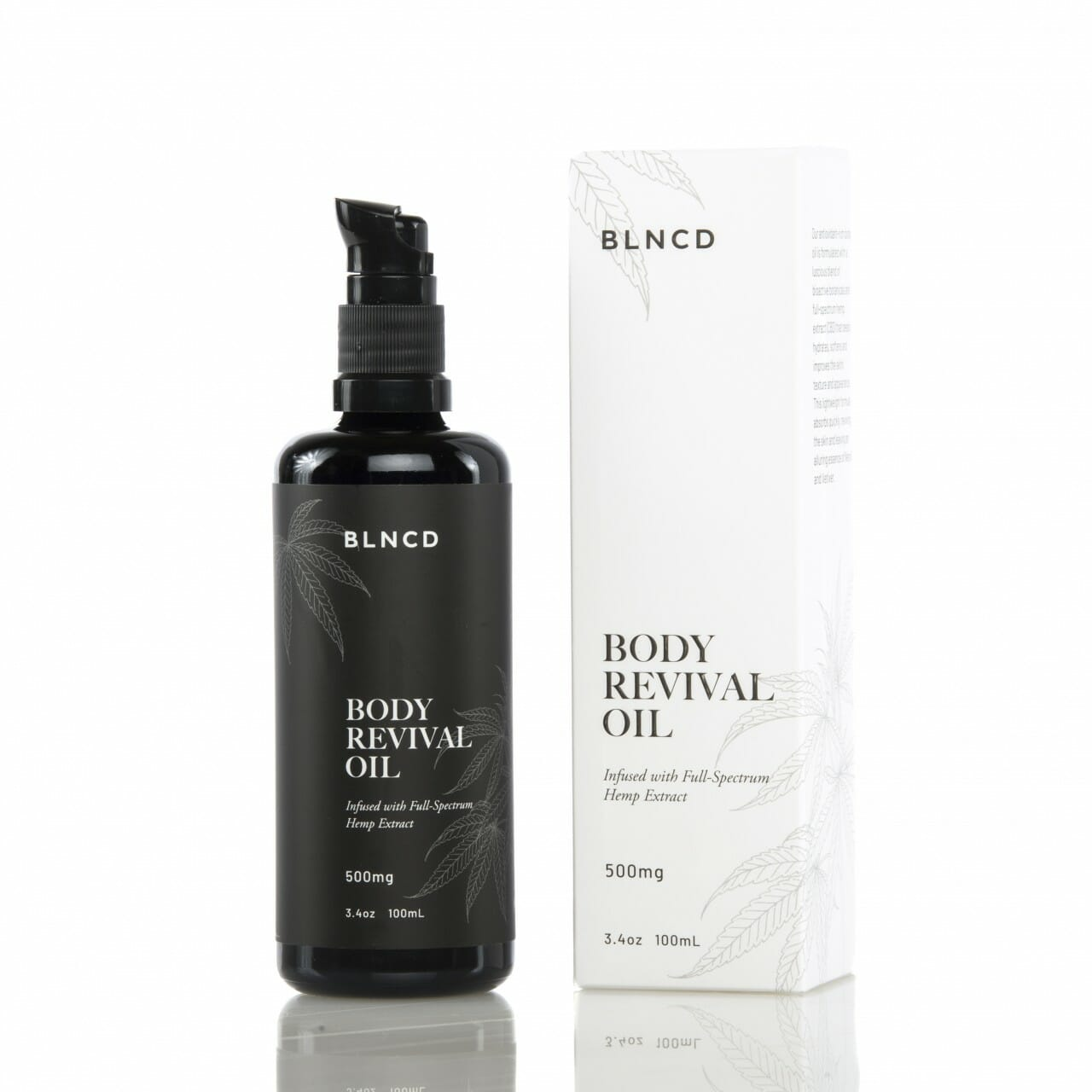 BLNCD - Revival Body Oil - All CBD Co