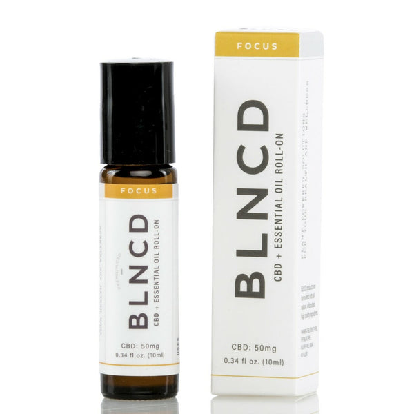 BLNCD - CBD + Essential Oil Roll-On FOCUS - All CBD Co