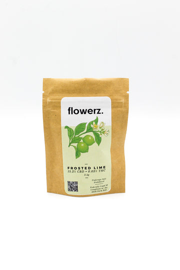 Flowerz- Frosted Lime CBD Flower