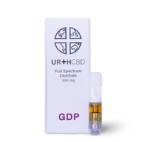 Urth CBD - Grand Daddy Purple Cartridge - All CBD Co
