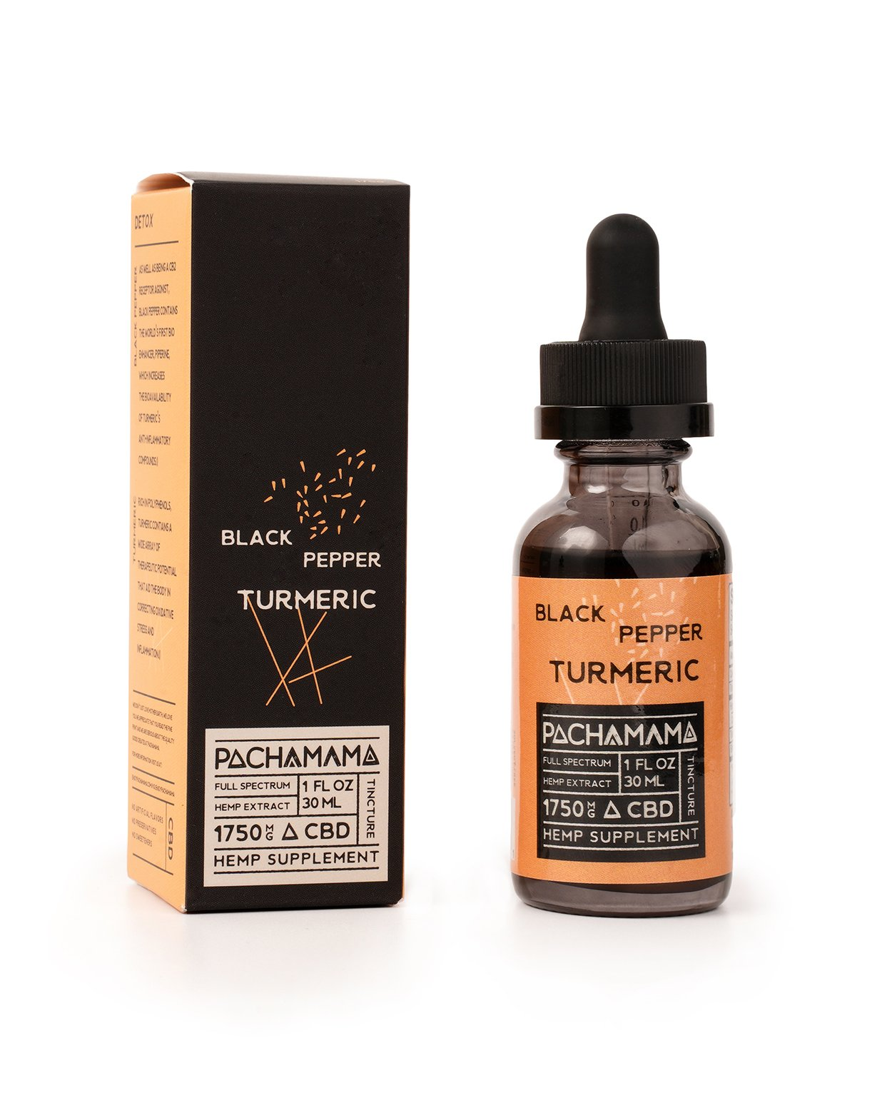 Pacha Mama Black Pepper Turmeric - All CBD Co