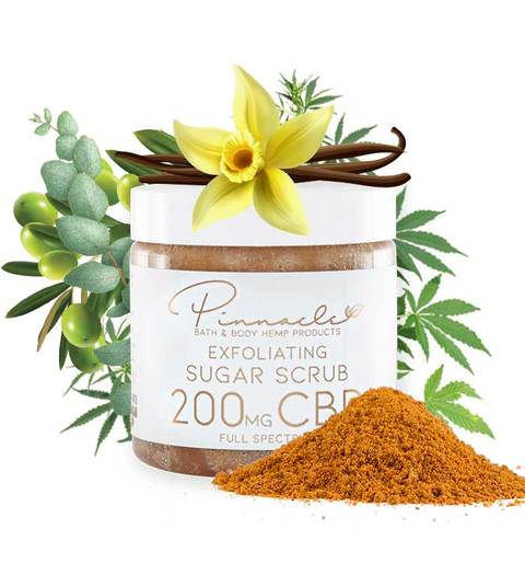 Pinnacle CBD Sugar Scrub - All CBD Co