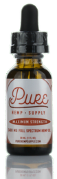 Pure Hemp Supply - Full spectrum oil Tincture - 2400MG - Lavender Lemonade