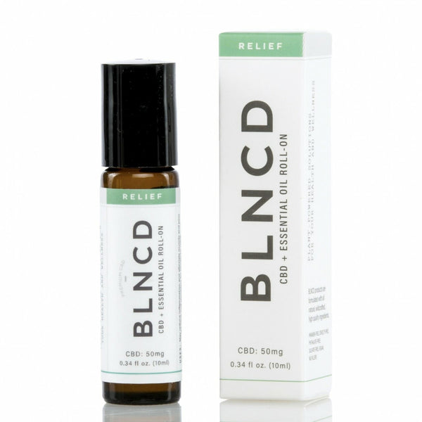 BLNCD - CBD + Essential Oil Roll-On RELIEF - All CBD Co